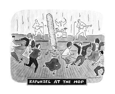 Hop Drawing - New Yorker April 2nd, 1990 by Danny Shanahan