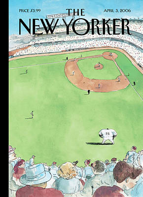 Barry Blitt Painting - New Yorker April 3rd, 2006 by Barry Blitt