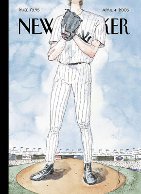 Barry Blitt Painting - New Yorker April 4th, 2005 by Barry Blitt