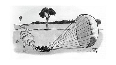 New Yorker April 5th, 1941 Art Print by Robert J. Day