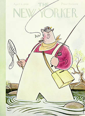 Wildlife Painting - New Yorker April 6 1940 by Rea Irvin