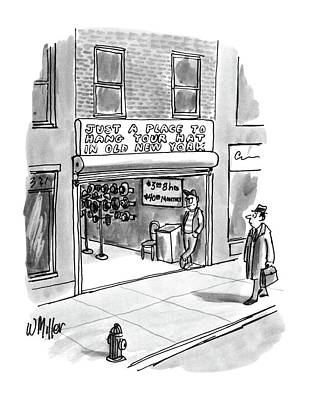 New Yorker April 7th, 1986 Art Print by Warren Miller