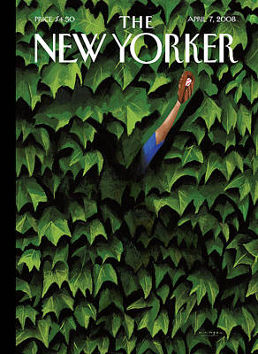 Catch Painting - New Yorker April 7th, 2008 by Mark Ulriksen