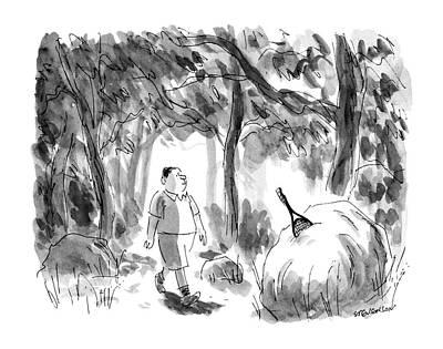 New Yorker August 12th, 1991 Art Print by James Stevenson
