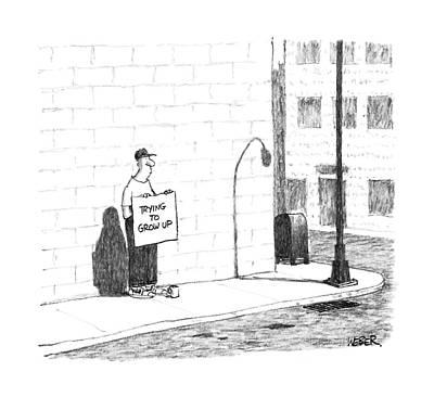New Yorker August 15th, 1988 Art Print by Robert Weber