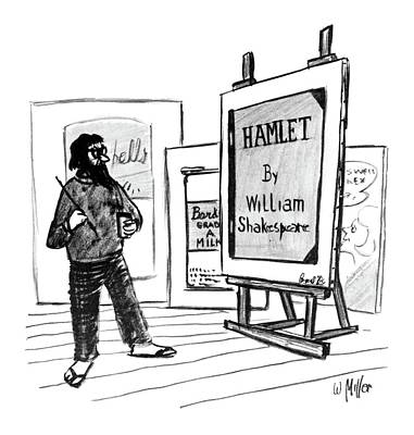 Andy Drawing - New Yorker August 1st, 1964 by Warren Miller