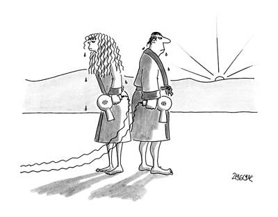 New Yorker August 20th, 1990 Print by Jack Ziegle
