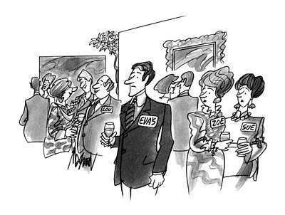 New Yorker August 20th, 1990 Art Print