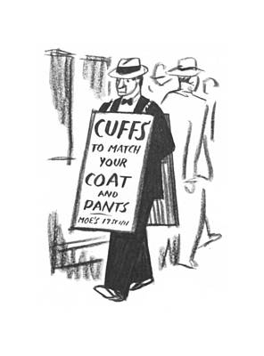 Drawing - New Yorker August 22nd, 1942 by Peter Arno