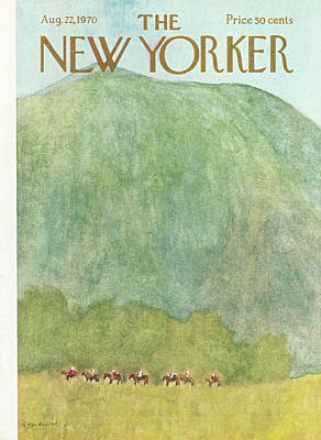 New Yorker August 22nd, 1970 Art Print by James Stevenson
