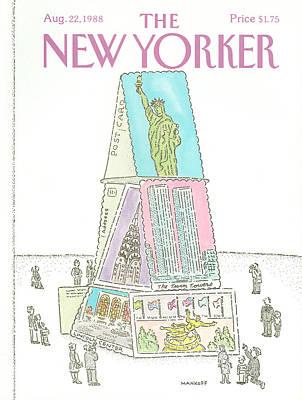 New Yorker August 22nd, 1988 Art Print