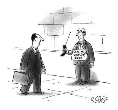 New Yorker August 22nd, 1994 Art Print