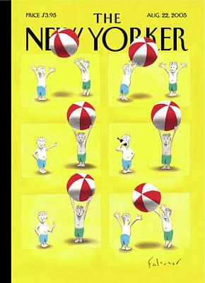 New Yorker August 22nd, 2005 Art Print