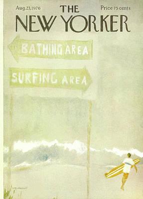 New Yorker August 23rd, 1976 Art Print