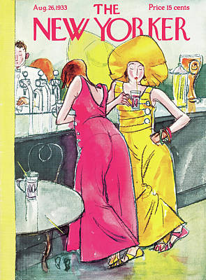 New Yorker August 26th, 1933 Art Print by Perry Barlow