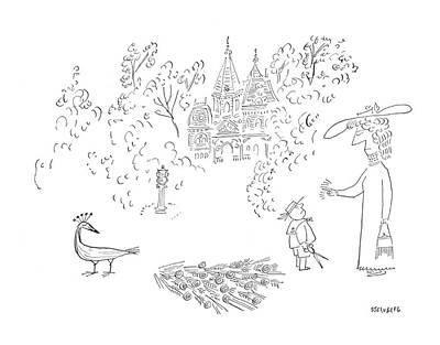 New Yorker August 26th, 1950 Art Print