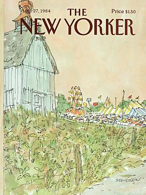 New Yorker August 27th, 1984 Art Print