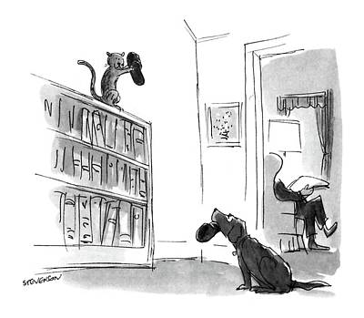 New Yorker August 29th, 1988 Art Print by James Stevenson