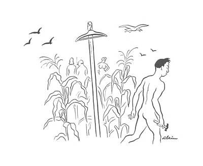 Rural Scenes Drawing - New Yorker August 31st, 1940 by  Alain
