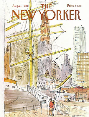 New Yorker August 31st, 1981 Art Print