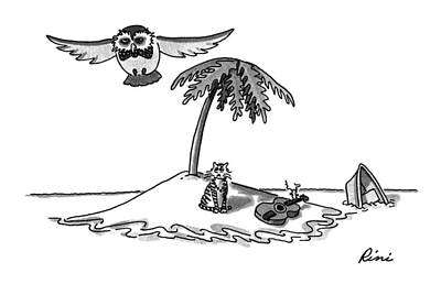 Rowboat Drawing - New Yorker August 31st, 1992 by J.P. Rini