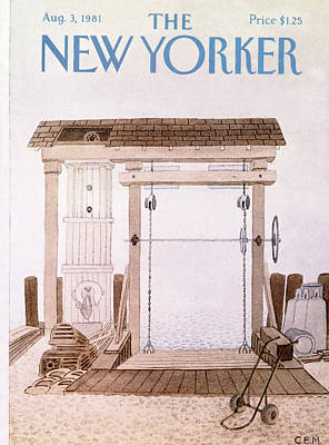 New Yorker August 3rd, 1981 Art Print by Charles E. Martin