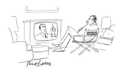 Sit-ins Drawing - New Yorker August 3rd, 1987 by Mort Gerberg