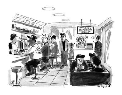 New Yorker August 6th, 1990 Art Print by Warren Miller