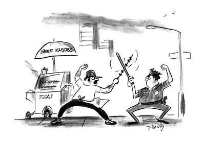 New Yorker August 8th, 1988 Art Print
