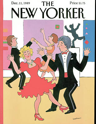 Men's Fashion Painting - New Yorker December 11th, 1989 by Barbara Westman