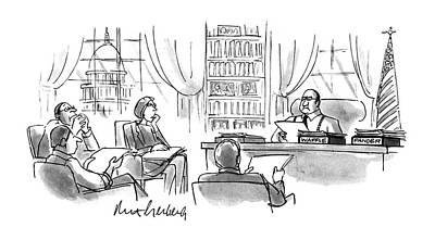 Congressman Drawing - New Yorker December 11th, 1995 by Mort Gerberg
