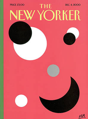 2000 Painting - New Yorker December 11th, 2000 by Bob Zoell