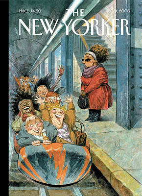 Peter-de-seve Painting - New Yorker December 11th, 2006 by Peter de Seve