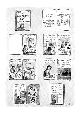 Book Title Drawing - New Yorker December 14th, 1987 by Roz Chast