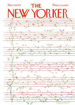 New Yorker December 15th, 1975 Art Print