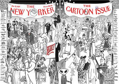 New Yorker December 15th, 1997 Art Print by Robert Mankoff