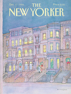 Painting - New Yorker December 17th, 1984 by Iris VanRynbach