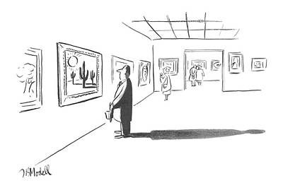 1951 Drawing - New Yorker December 1st, 1951 by Frank Modell