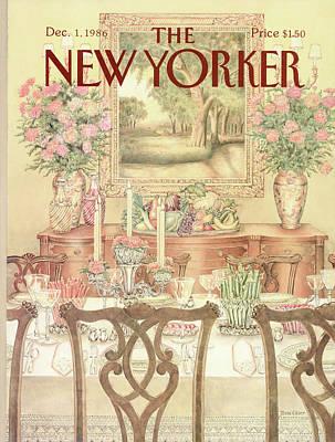 New Yorker December 1st, 1986 Art Print by Jenni Oliver