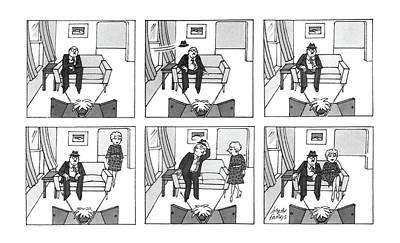 New Yorker December 1st, 1986 Art Print by Joseph Farris
