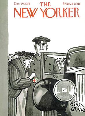 New Yorker December 20th, 1958 Art Print