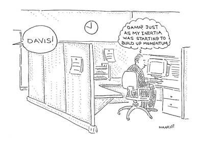New Yorker December 20th, 1999 Art Print by Robert Mankoff