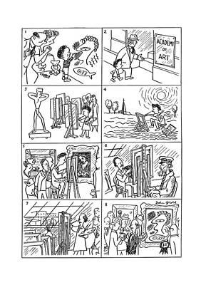 New Yorker December 21st, 1940 Art Print by John Groth