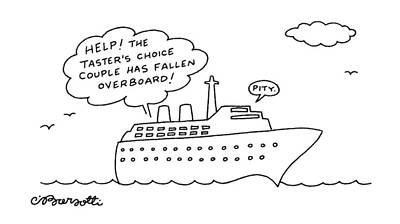 Tv Commercials Drawing - New Yorker December 21st, 1992 by Charles Barsotti