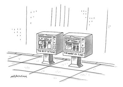 New Yorker December 22nd, 1997 Art Print