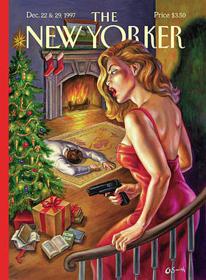 1997 Painting - New Yorker December 22nd, 1997 by Owen Smith