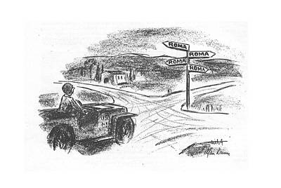 December 25th Drawing - New Yorker December 25th, 1943 by Alan Dunn