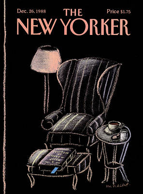New Yorker December 26th, 1988 Art Print by Merle Nacht