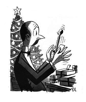 Drawing - New Yorker December 27th, 1941 by Peter Arno