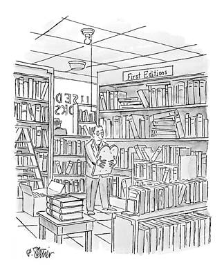 Bible Drawing - New Yorker December 27th, 1999 by Peter Steiner
